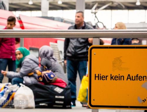 Die Momentaufnahme: Flüchtlinge (nicht) fotografieren