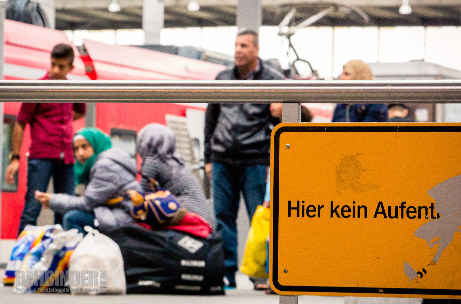 Flüchtlinge - Fotograf Rehbinder München
