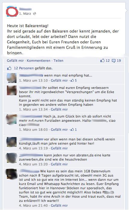 Fotograf München Rehbinder Facebook-Interaktion