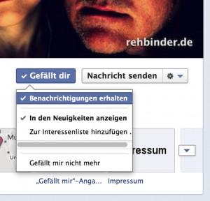 Fotograf München Rehbinder Facebook-Seiten-Benachrichtigungsoption-300x288