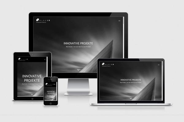 REHBINDER WEBDESIGN Blau iP GmbH Immobilienentwicklung