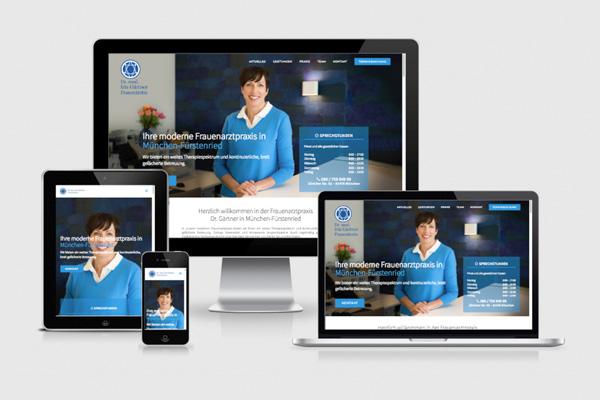 REHBINDER WEBDESIGN Dr. Iris Gärtner Frauenarztpraxis