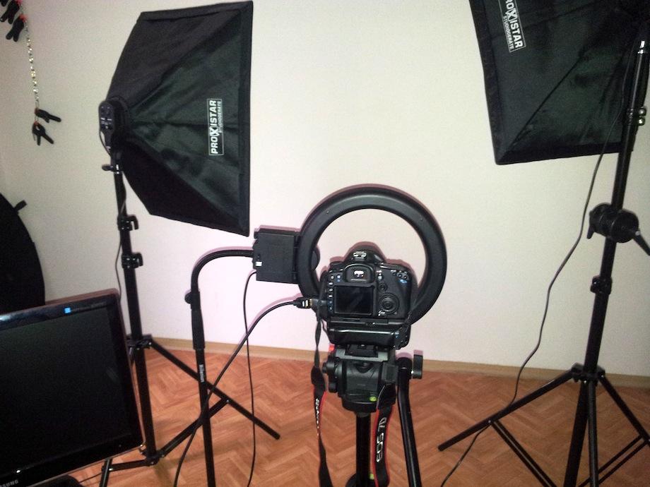 studio portraits mit statischer beleuchtung ringleuchte. Black Bedroom Furniture Sets. Home Design Ideas